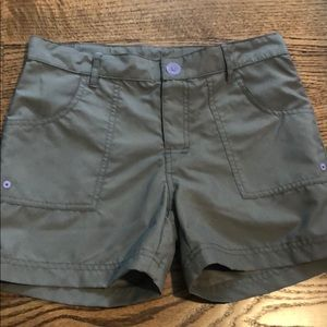 The North Face gray shorts size M 10/12